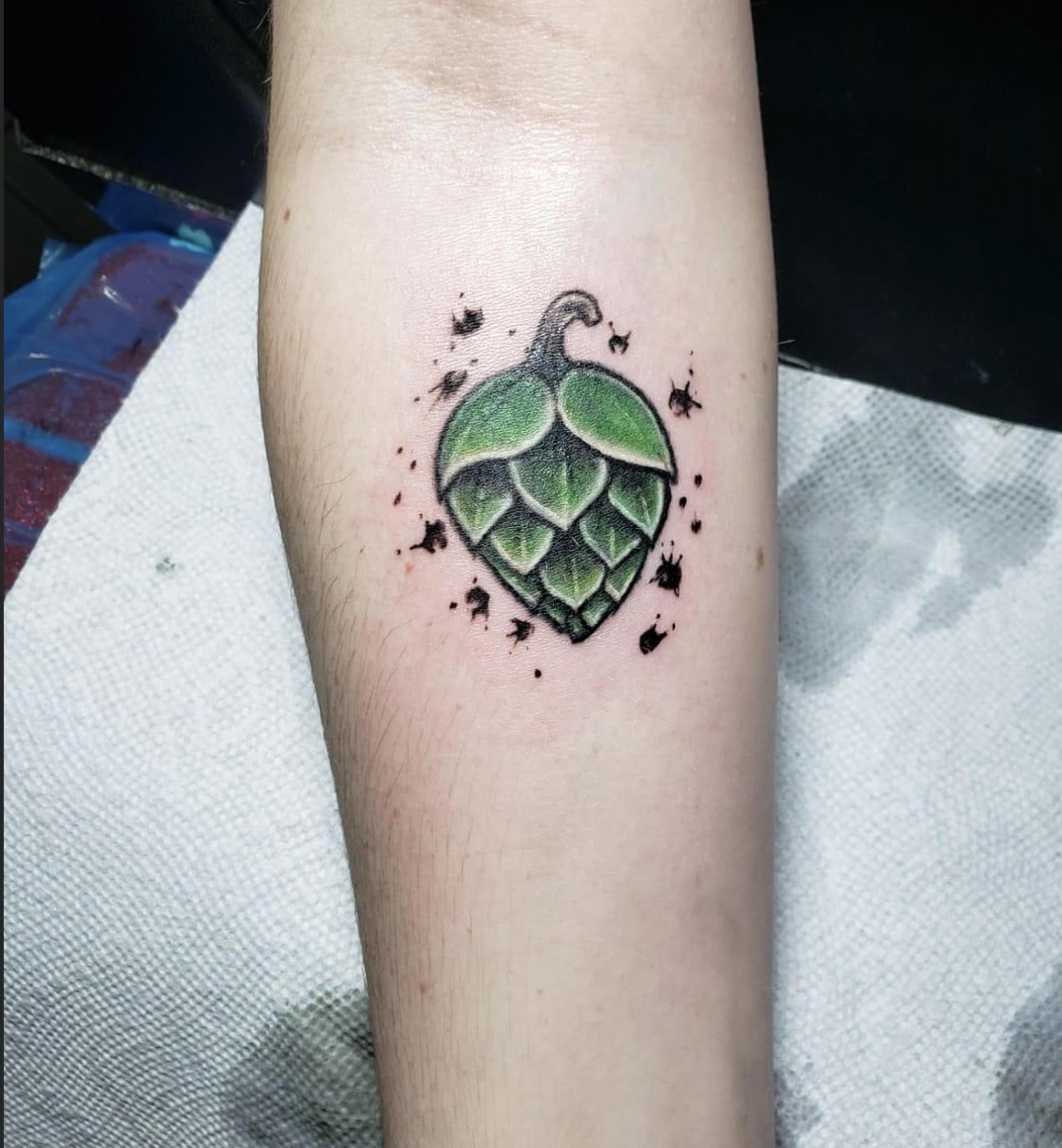 three d color tattoo