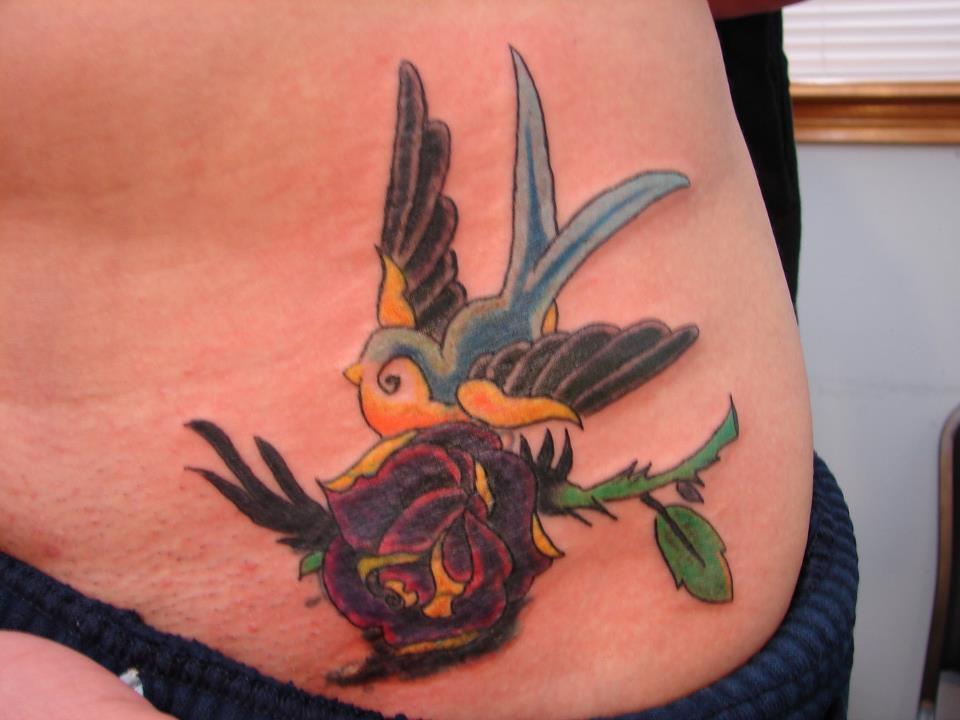 beautiful tattoo repair