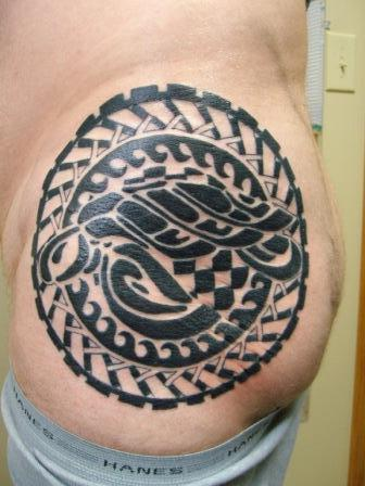 polynesian tribal black