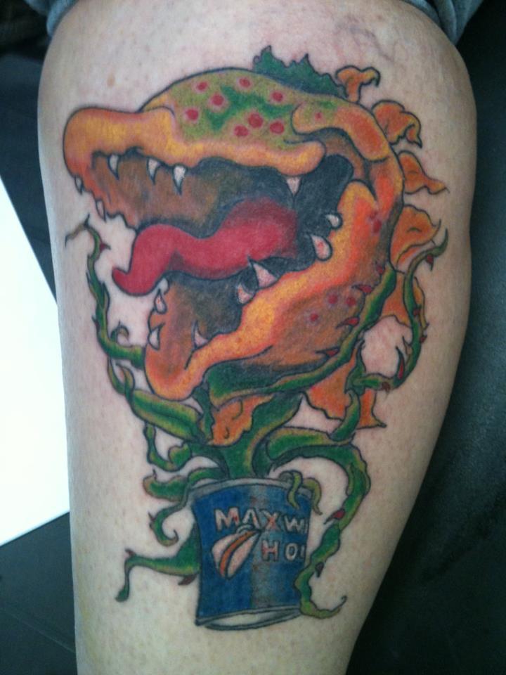 venus fly trap tattoo
