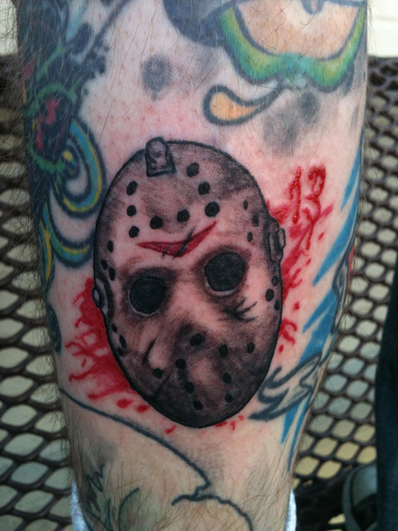 Jason in a Hockey Mask