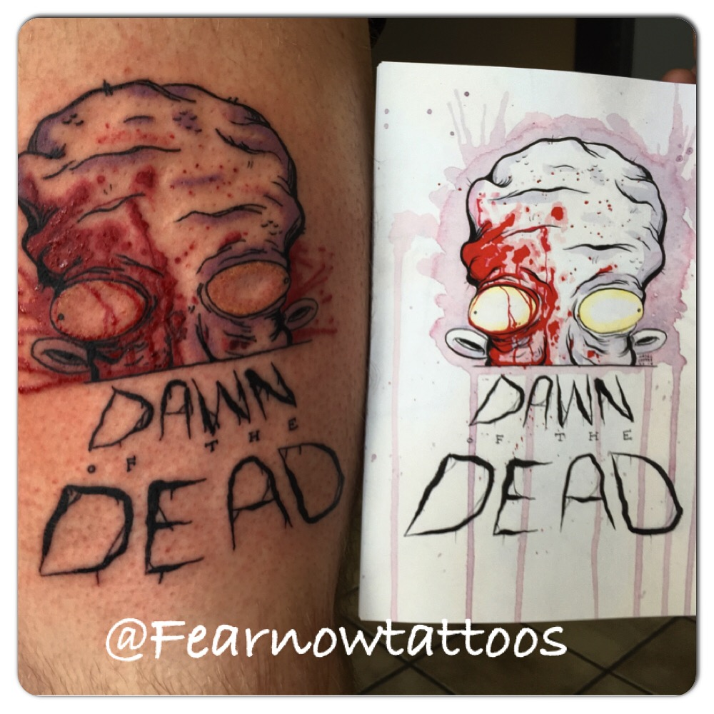 Dawn of the Dead Tattoo