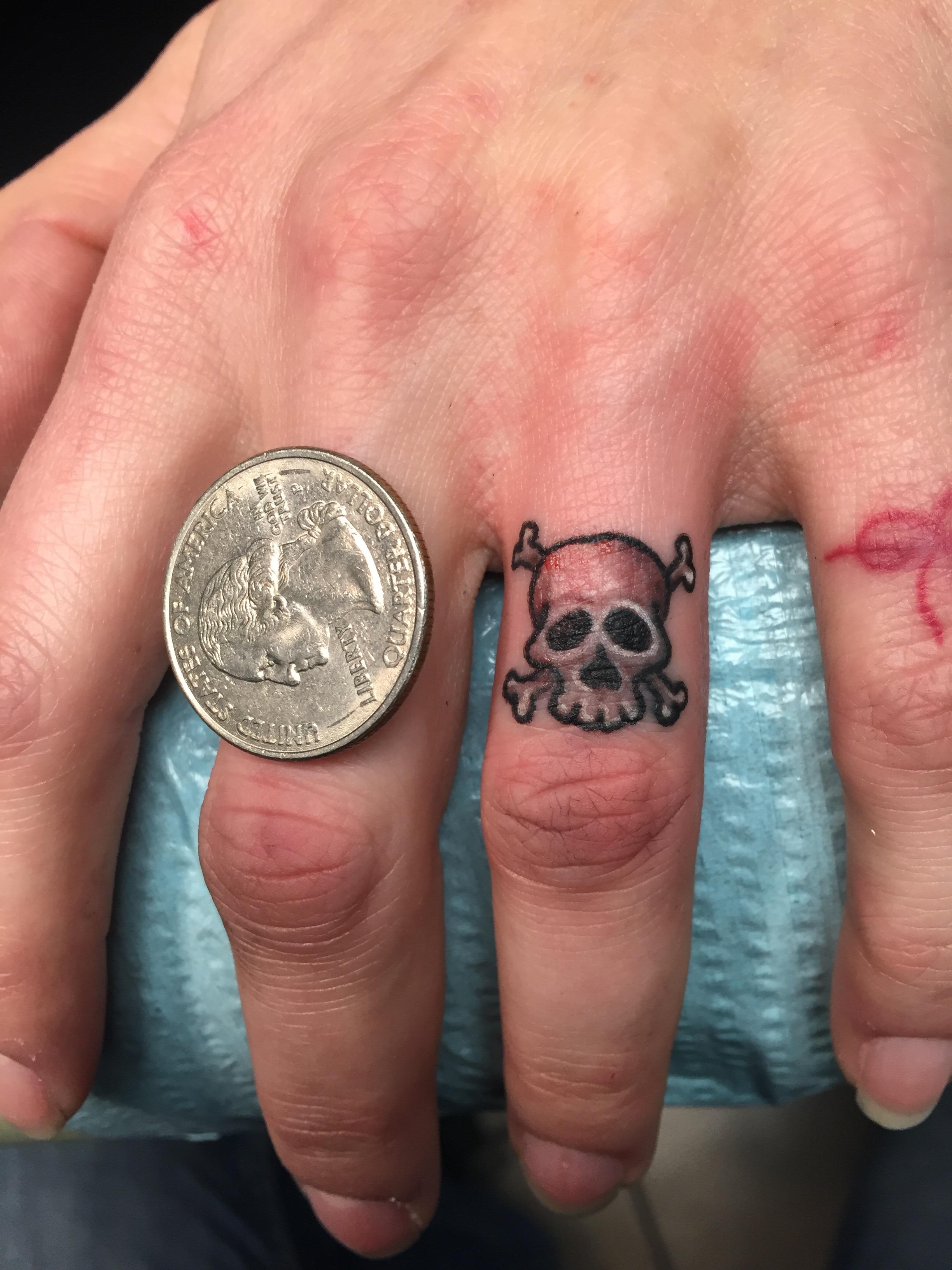 tiny skull knuckle