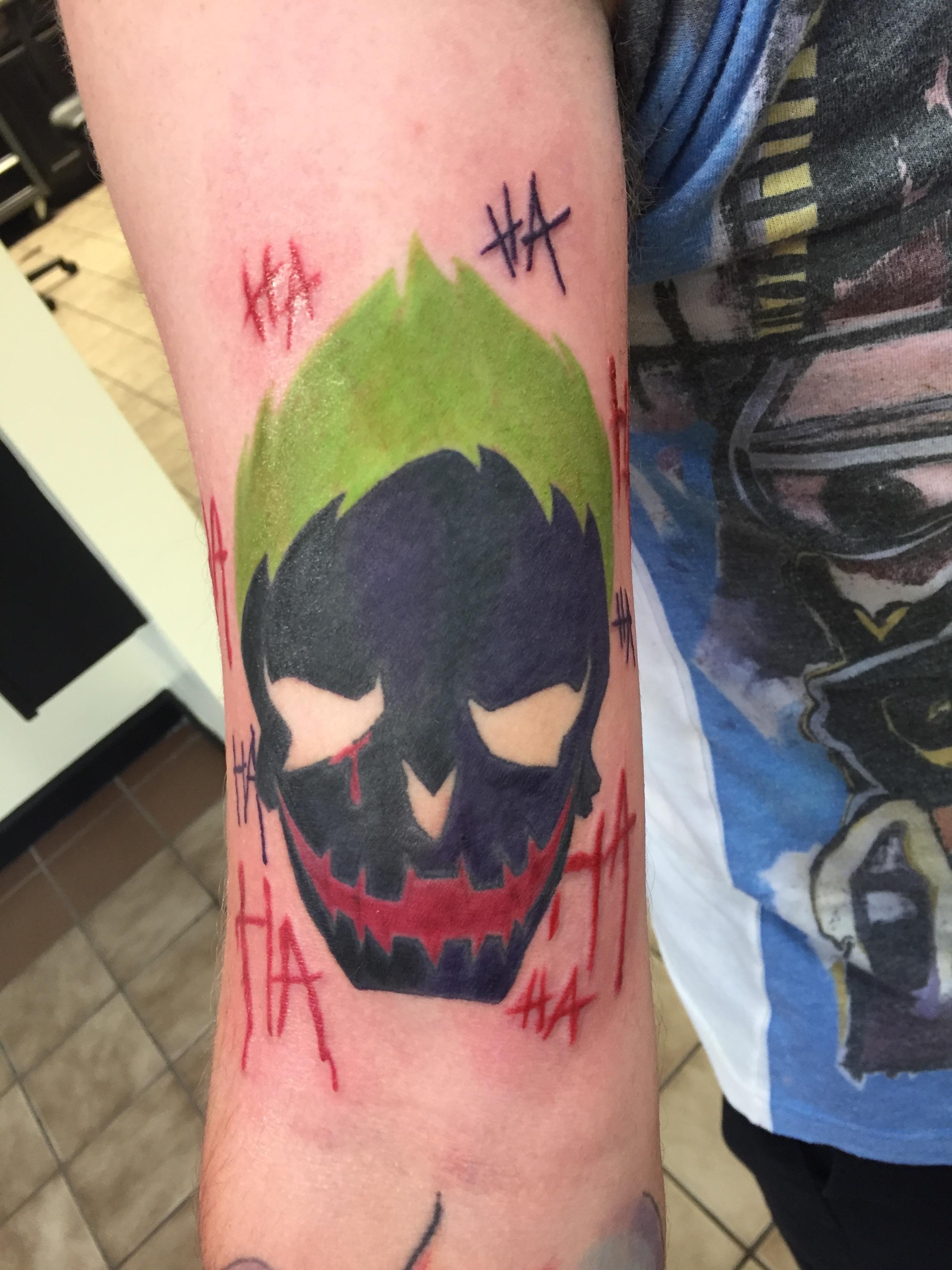 the joker skull