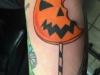 halloween candy tattoo