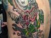 horror tattoo style