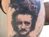 Edgar Allen Poe portrait the raven