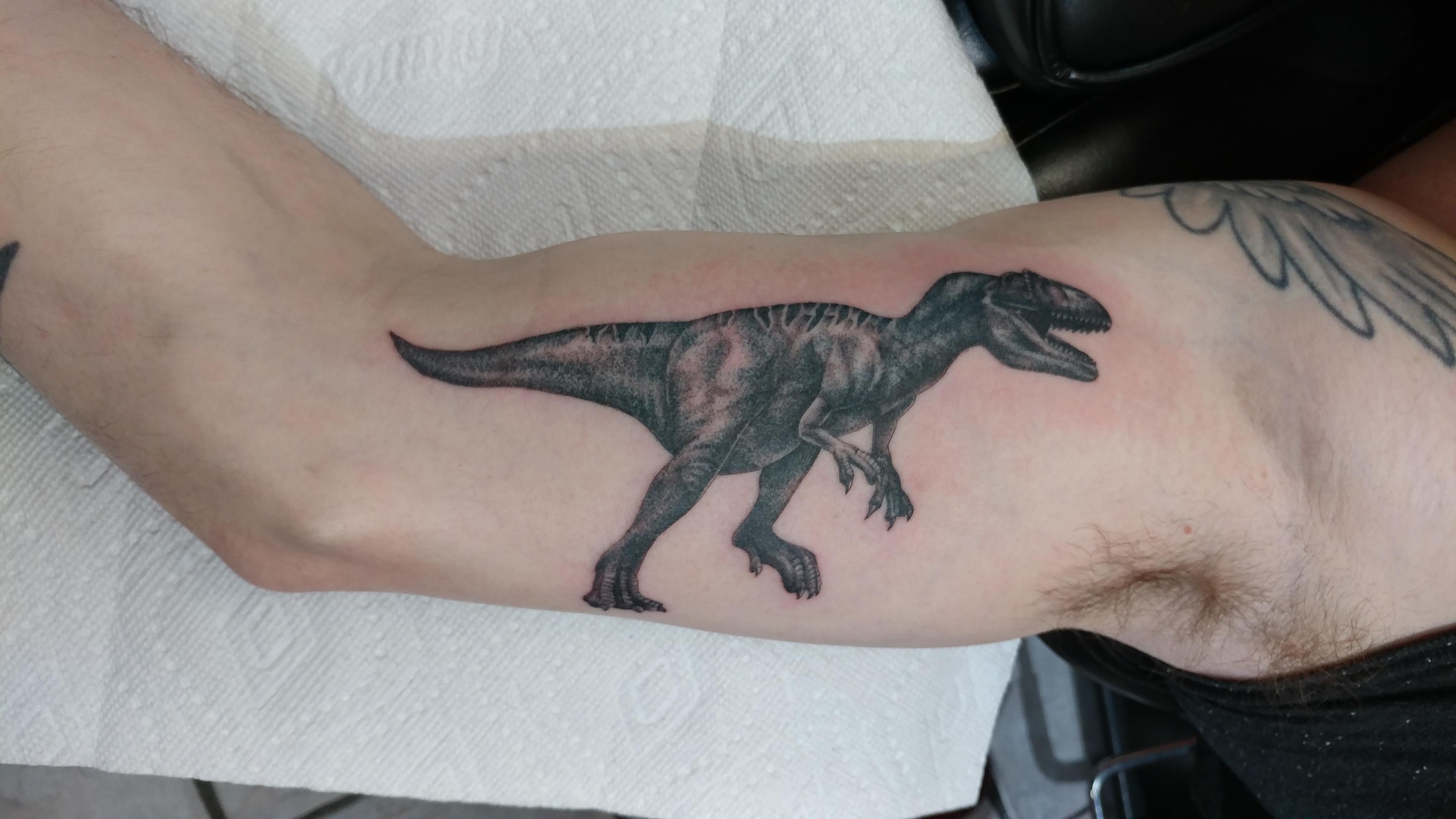 jurassic park tattoo