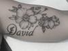 Tribute Flower Tattoo