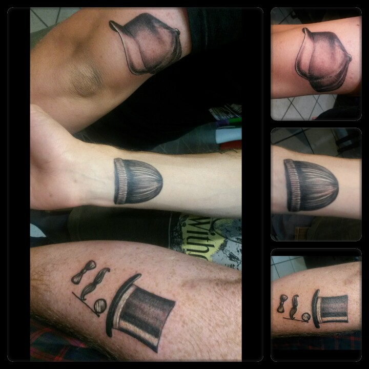 black hat tattoo