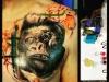 gorilla to machine tattoo