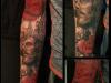 jesus in the roses