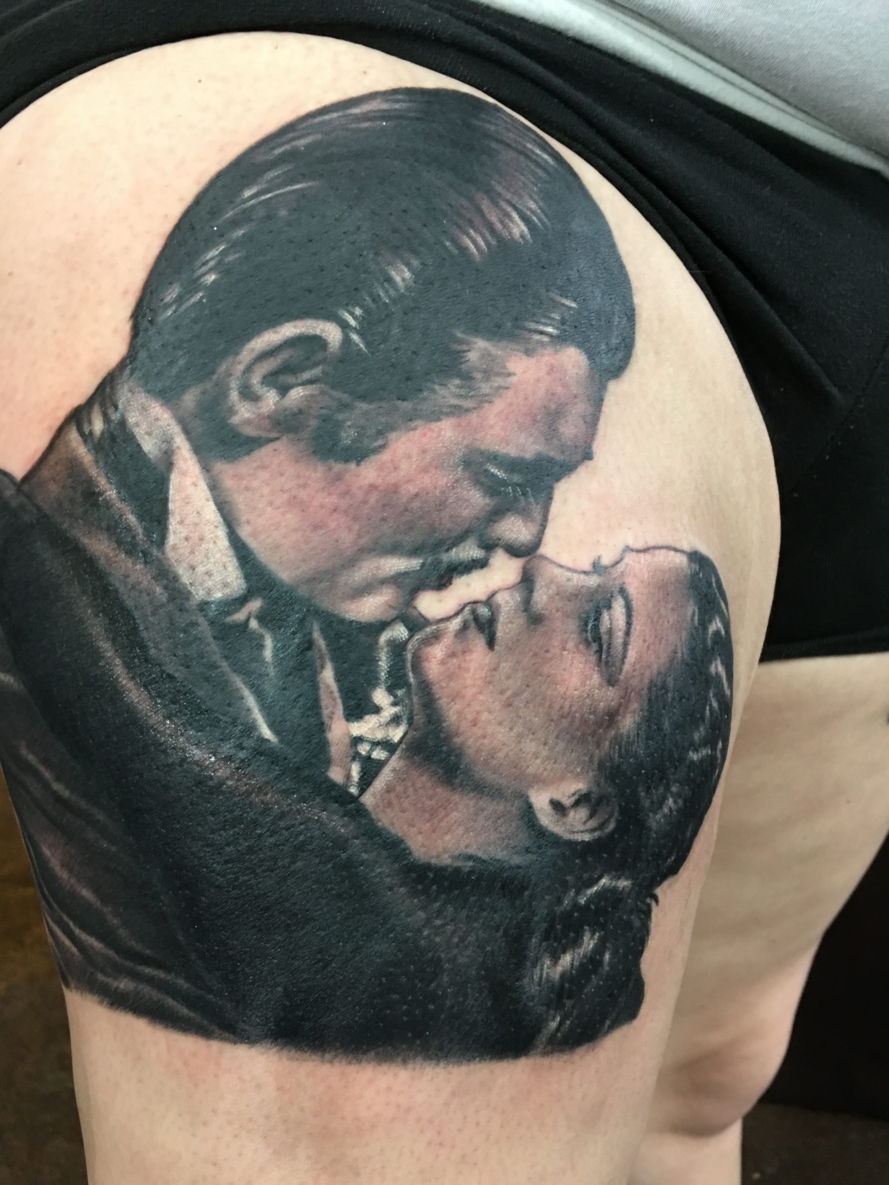 gone with the wind tattoo