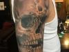 full sleeve skull