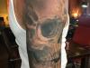 skull shoulder and sleeve