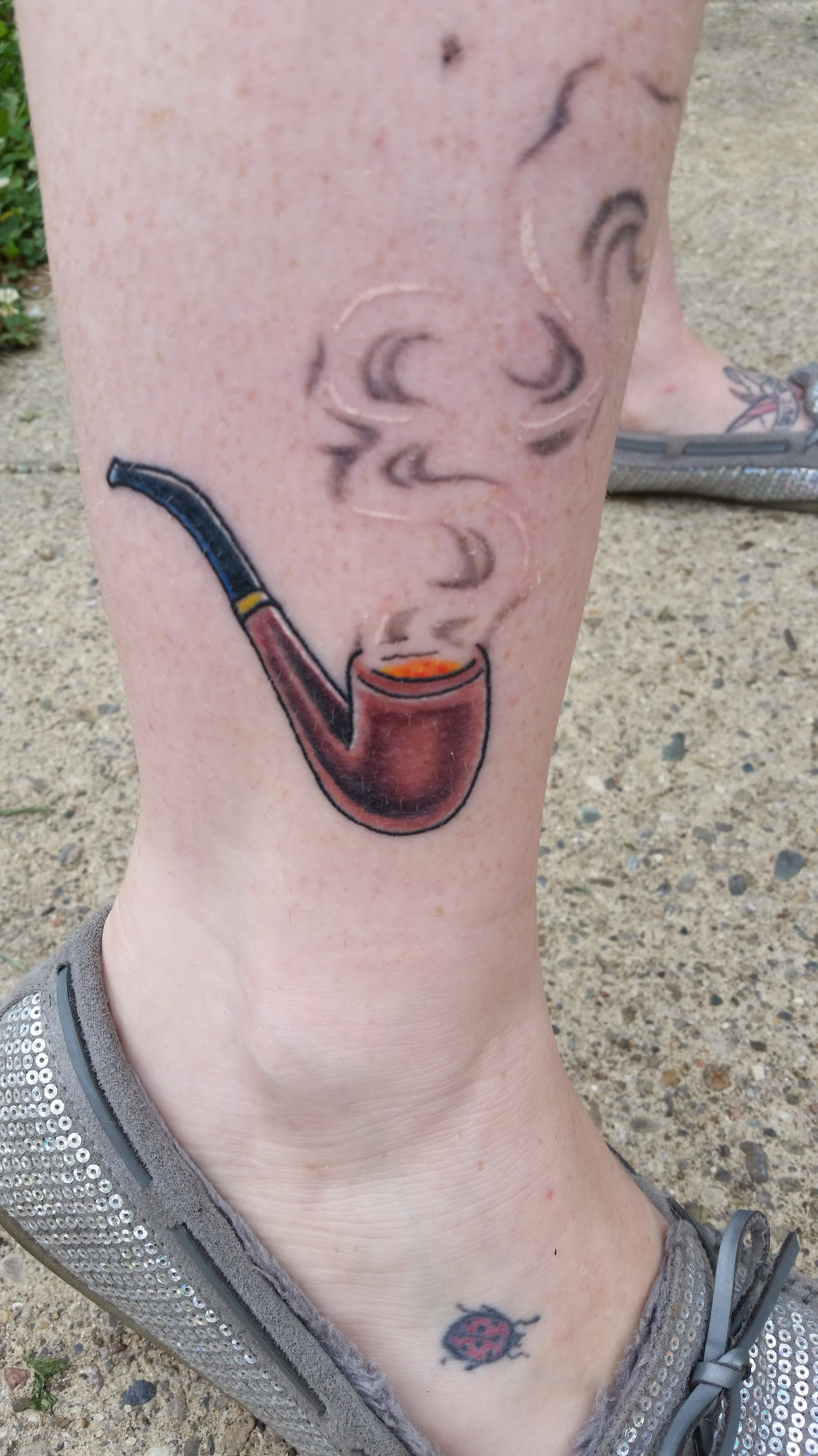 pipe tattoo