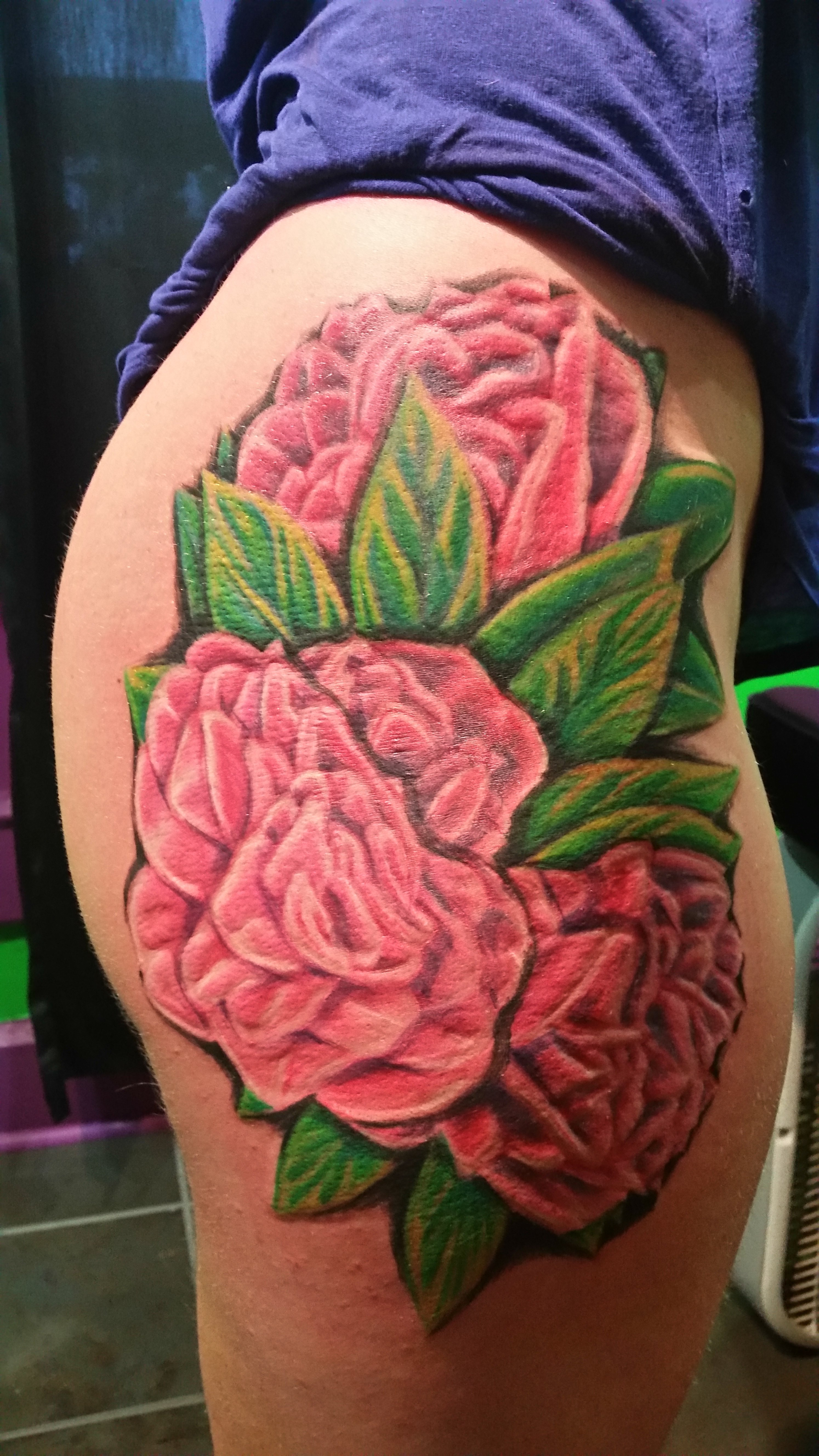 organic full color tattoo