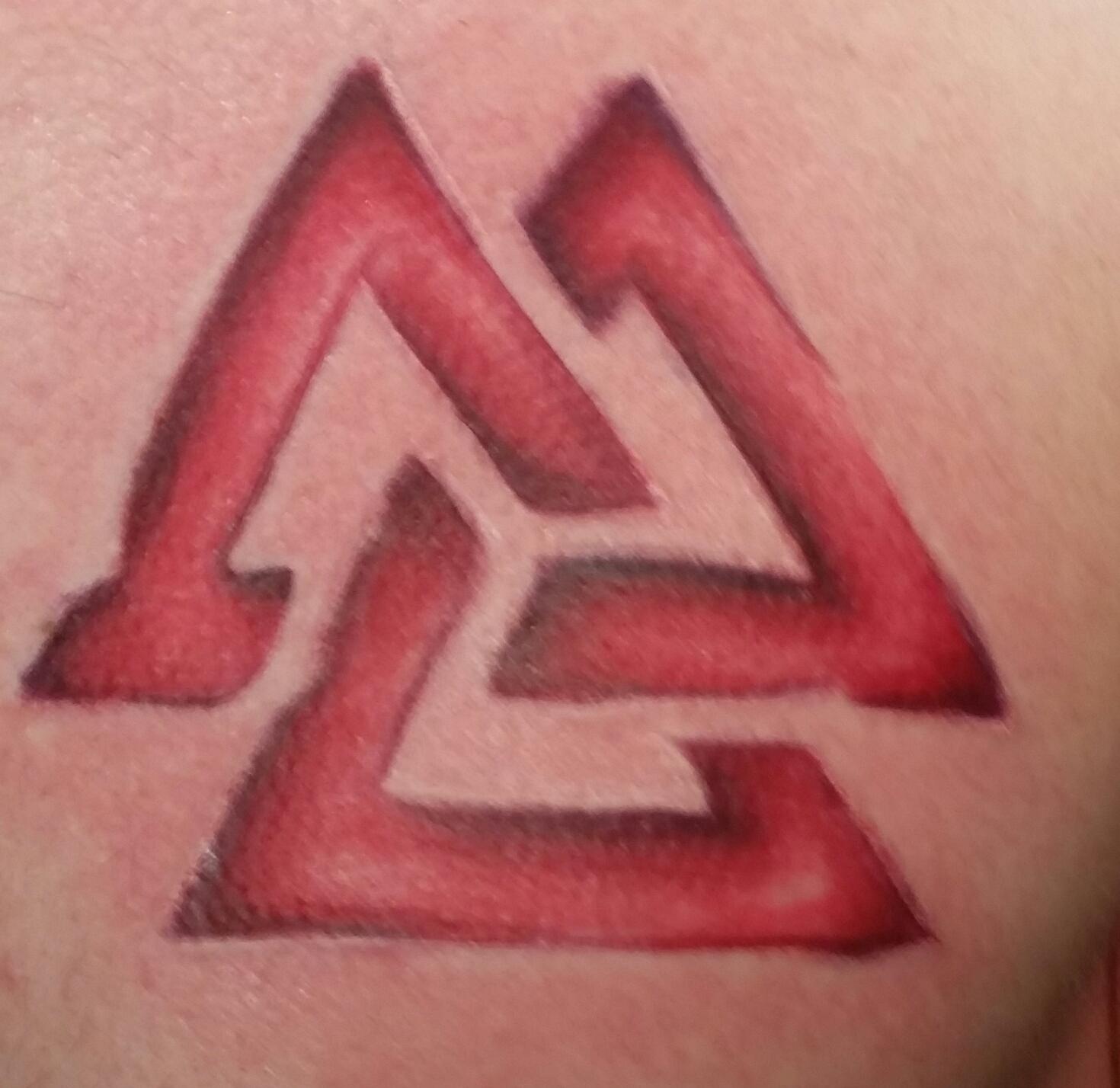 interlocking triangles
