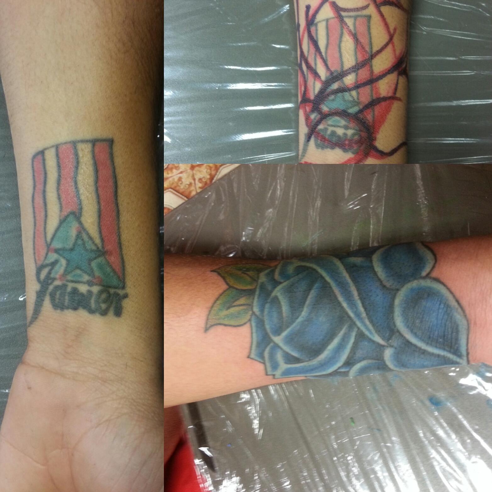 cover up tattoo repair