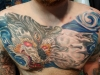 Chest piece tattoo Indy