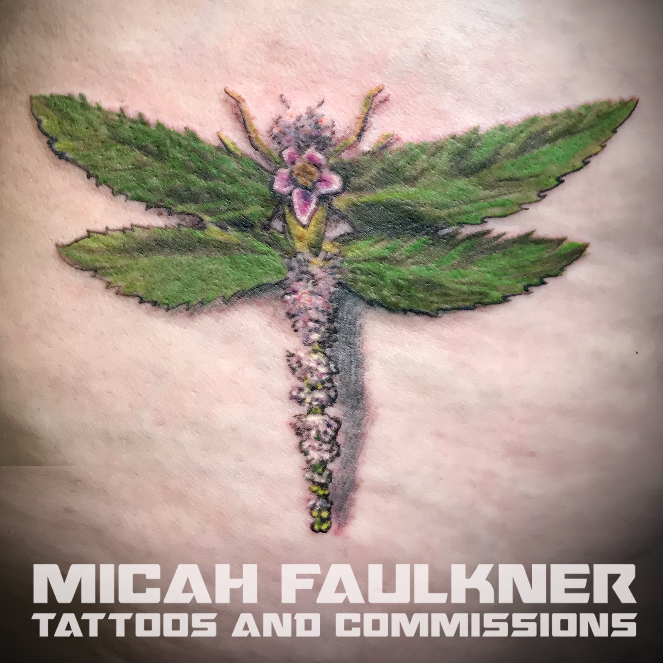floral-dragonfly-tattoo